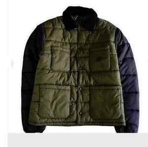 【送料無料】キャンプ用品 ジャケットコートオリーブブラックサイズ