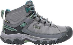 【送料無料】キャンプ用品 ミッドレディースハイキングブーツグレーkeen targhee exp mid waterproof womens hiking boots grey