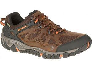 【送料無料】キャンプ用品 メンズアウトベンチレーターゴアメンズウォーキングハイキングブーツmens merrell all out blaze ventilator goretex mens walkinghiking boots shoes