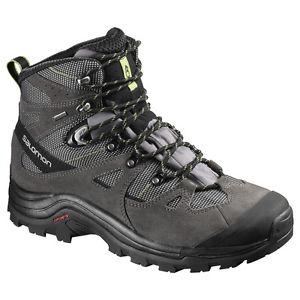 【送料無料】キャンプ用品 ソロモンハイキングブーツグラウsalomon mens hiking boots discovery gtx grau