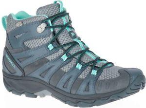 【送料無料】キャンプ用品 ベンチャーミッドハイキングブーツグレーmerrell avian light 2 venture womens mid waterproof hiking boots grey