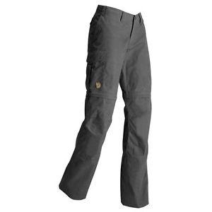 【送料無料】キャンプ用品 ズボンダークグレーサイズfjll rven karla zip trousers,dark grey,size 40, 89375
