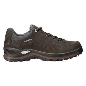 【送料無料】キャンプ用品 メンズハイキングブーツブラウングレーlowa mens hiking boots renegade iii gtx browngrey