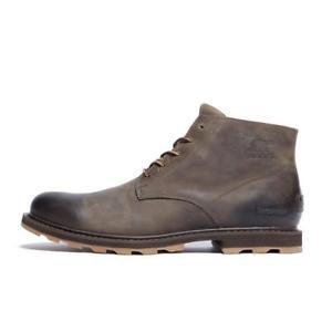 【送料無料】キャンプ用品 ソレールメンズウォーキングブーツブラウンsorel madson chukka leather waterproof men's walking boots brown