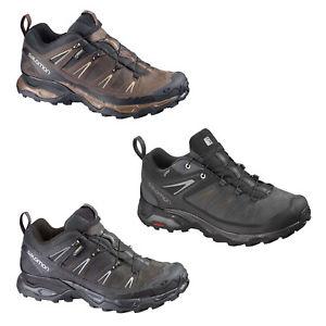 【送料無料】キャンプ用品 ソロモン×ゴアテックスメンズハイキングブーツハイキングsalomon x ultra leather gtx gore tex mens hiking boots hiking leather shoes