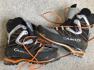 【送料無料】キャンプ用品 セライブーツサイズaku serai gtx mountaineering boots size 85