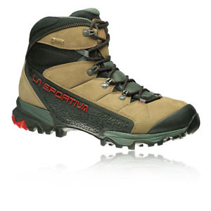 【送料無料】キャンプ用品 メンズサラウンドブーツブラウングレースポーツウォーキングla sportiva mens nucleo goretex surround walking boots brown grey sports