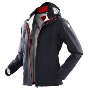 【送料無料】キャンプ用品 バイオニックシェルメンズジャケットコートブラックレッドサイズ