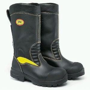 【送料無料】キャンプ用品 ゴアテックスレザーバイカーブーツサイズjolly crosstech goretex leather firemans bikers rigger boots waterproof size 14