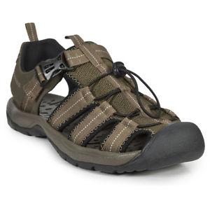 【送料無料】キャンプ用品 トレスパスメンズコードハイキングサンダルプルtrespass mens cornice adjustable pull cord closed toe hiking sandals