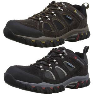 【送料無料】キャンプ用品 メンズボドミンメッシュスエードウォーキングシューズkarrimor mens bodmin 4 low waterproof breathable mesh suede walking shoes