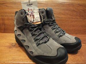 【送料無料】キャンプ用品 コットントレーダースグレーウォーキングハイキングブーツcotton traders lightweight grey walking hiking boots uk 10 eu 44 brand