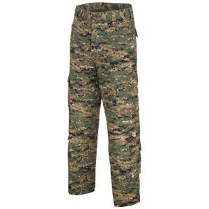 【送料無料】キャンプ用品 ズボンメンズカーゴハンティングパンツデジタルウッドランドmfh acu trousers tactical mens cargo combat hunting cotton pant digital woodland