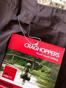 【送料無料】キャンプ用品 ブラウンズボンサイズタグcraghoppers brown womens trousers size 18 , with tags