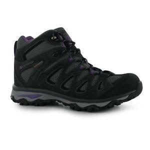 【送料無料】キャンプ用品 レディースボーダーミッドブーツキャンプウォークkarrimor ladies border mid boots tourism mountains camping walk footwear