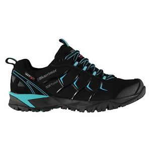 【送料無料】キャンプ用品 サージソフトシェルウォーキングシューズレディースシューレースkarrimor surge soft shell wtx walking shoes ladies water repellent laces