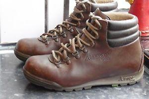 【送料無料】キャンプ用品 スカイウォークハイキングブーツサイズbrown skywalk vtg hiking boots size 40 uk 6