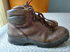 【送料無料】キャンプ用品 サイズブーツscarpa boots leather size 11 used