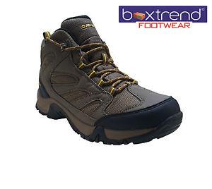 【送料無料】キャンプ用品 メンズハイテックパイオニアトレッキングハイキングブーツ mens hi tec pioneer waterproof ankle walking trekking hiking boots hi shoes