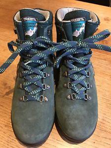 【送料無料】キャンプ用品 グリーンスエードハイキングブーツサイズwomens trezeta green suede goretex hiking boots, size eu41uk75
