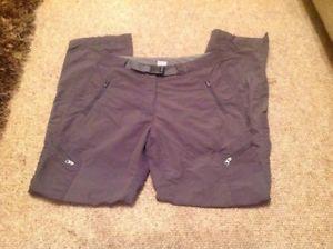 【送料無料】キャンプ用品 トレッキングパンツパンツレディースサイズウォーキングハイキングrab alipine trek pants trousers ladies size 10 walking hiking good condition