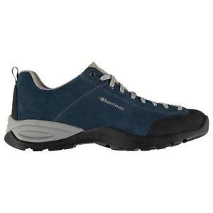【送料無料】キャンプ用品 メンズアプローチウォーキングシューズスエードkarrimor mens approach walking shoes non waterproof lace up suede