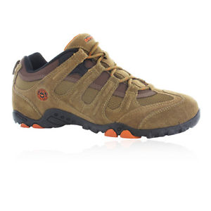 【送料無料】キャンプ用品 クアドラシックメンズブラウンハイキングスポーツトレーナーウォーキングhitec quadra classic mens brown walking hiking sports shoes trainers