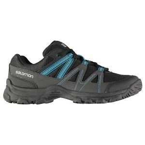 【送料無料】キャンプ用品 ソロモンブラザーズワトソンウォーキングシューズレディースsalomon watson low walking shoes ladies non water repellent laces fastened