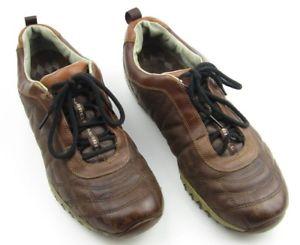 【送料無料】キャンプ用品 メンズレーサーブラウンレザーウォーキングトレッキングハイキングシューズトレーナーmens merrell racer brown leather walking trekking hiking shoes trainers uk 11