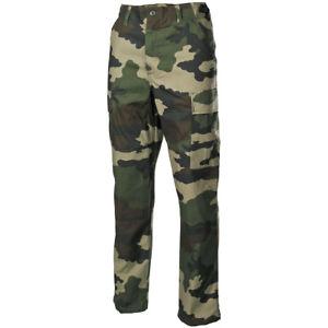 【送料無料】キャンプ用品 フランスズボンメンズカーゴパンツfrench army tactical bdu trousers mens combat cargo work pants ripstop cce camo