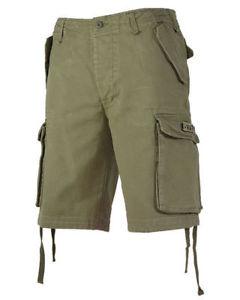 【送料無料】キャンプ用品 メンズカーゴショートパンツコットンオリーブmiltec mens combat cargo shorts 100 prewash cotton olive od green