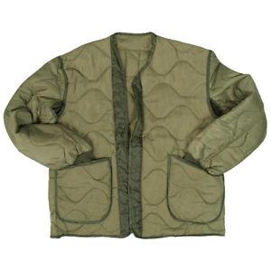 【送料無料】キャンプ用品 アーミーフィールドジャケットハイキングハンティングオリーブパッドライナー