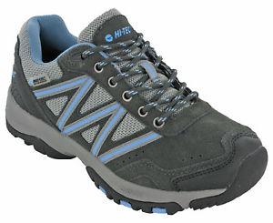 【送料無料】キャンプ用品 テックハイキングトレーナースエードレディースクーガーhitec summer hiking shoes waterproof trainers suede womens cougar low uk 48