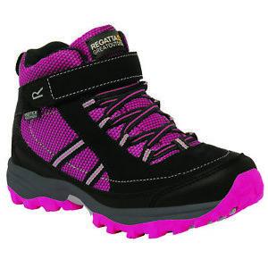 【送料無料】キャンプ用品 レガッタミッドブーツregatta girls trailspace ii mid boot rrp 60
