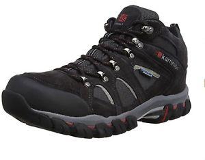 【送料無料】キャンプ用品 ボドミンミッドウォーキングシューズサイズkarrimor bodmin mid iv weathertite walking shoes k748blc150 size 6540 bnib