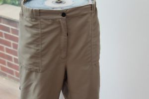 【送料無料】キャンプ用品 レディースウォーキングハイキングズボントレッキングベージュladies paramo walking hiking trousers xl trekking beige w38 l32 nikwax parameta