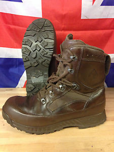 【送料無料】キャンプ用品 ブラウンブーツサイズgenuine british army brown haix high liability combat boots used gr 1 many sizes