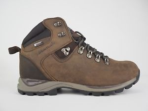 【送料無料】キャンプ用品 メンズスカイウォーキングハイキングブーツmens karrimor ksb skye walking hiking brown leather waterproof boots uk 9 eu 43