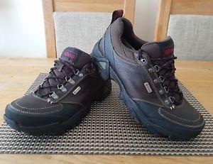 【送料無料】キャンプ用品 ハイキングブーツメンズサイズコンディットahnu elkridge waterproof hiking boots mens size uk75 eu415 genuine good condit