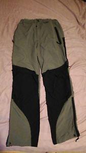 【送料無料】キャンプ用品 メンズパンツショートレッググリーンウォーキングズボンmontane mens terra pants medium 32 short leg green walking trouser free delivery