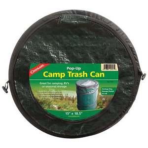 【送料無料】キャンプ用品 コグランミニポップcoghlans mini pop up trash can