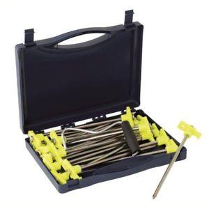【送料無料】キャンプ用品 20cwスパイクoutwell spike peg box of 20 cw peg extractor