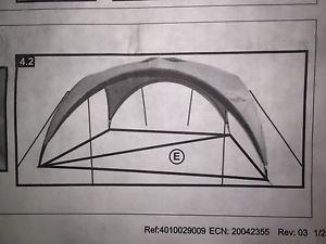 【送料無料】キャンプ用品 コールマンイベント15フィートx15フィートテープcoleman event shelter 15ft x 15ft ground straps frame tapes