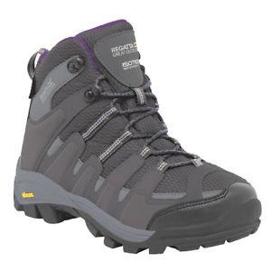 【送料無料】キャンプ用品 レガッタハイキングブーツregatta womens burrell hiking boots