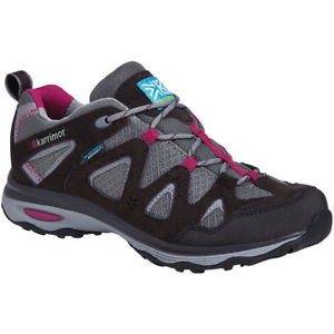【送料無料】キャンプ用品 レディースレディースイスウォーキングシューズkarrimor womensladies isla waterproof lightweight comfy walking shoes