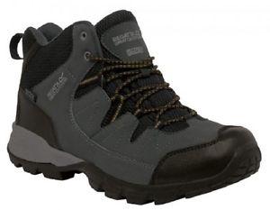 【送料無料】キャンプ用品 ミッドメンズウォーキングハイキングブーツregatta holcombe mid mens walking hiking boots waterproof breathable comfortable