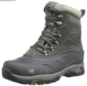 【送料無料】キャンプ用品 メンズスノーブーツサイズkarrimor mens snowfur ii weathertite snow boots leather size 612