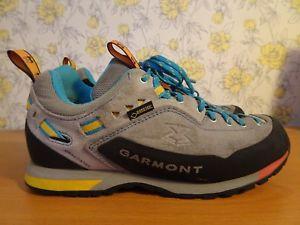 【送料無料】キャンプ用品 ウォーキングシューズwomens garmont dragontail goretex vibram walking shoes vgc uk 5