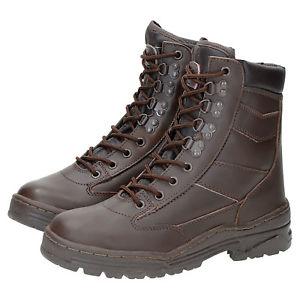 【送料無料】キャンプ用品 ブーツデルタセキュリティbrown leather army cadet boots delta combat tactical security military raf ta
