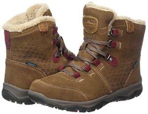【送料無料】キャンプ用品 ウィニペグレディースハイキングブーツサイズkarrimor women's winnipeg ladies weathertite brown high rise hiking boots size 8
